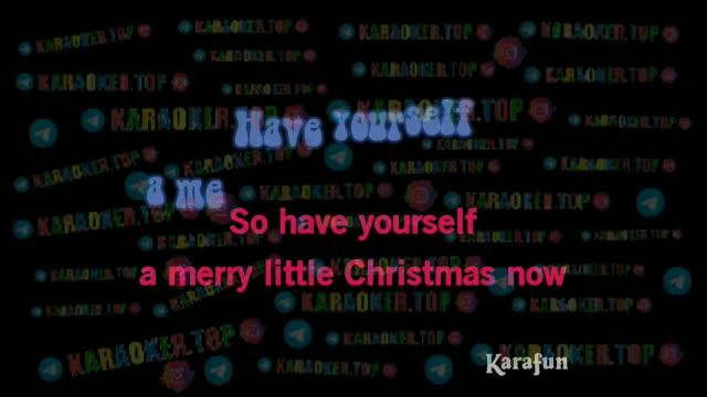Chris Isaak - Have Yourself A Merry Little Christmas Karaoke